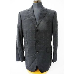 《メンズアウター》BURBERRY BLACK LABEL スーツ ジャケット ブラック系 中古|thrift-webshop