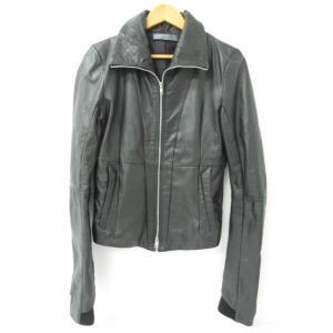 《メンズアウター》EKAM エカム 羊革 レザージャケット SIZE:M 中古 thrift-webshop