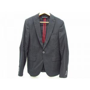 DIESEL BLACK GOLD ディーゼル・ブラック・ゴールド テーラードジャケット ストライプジャケット SIZE:44|thrift-webshop