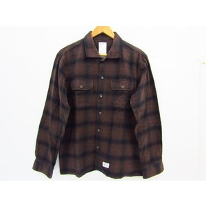 WTAPS ダブルタップス チェックシャツ 長袖 SIZE:M thrift-webshop