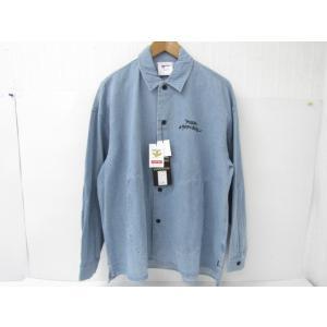 美品 MARK GONZALES マークゴンザレス 2G8-5964 デニムジャケット 胸ロゴ刺繍 ハロウィンテキスト SIZE:M|thrift-webshop