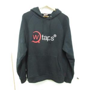 《メンズトップス》WTAPS ダブルタップス 17AW AXE スエット パーカー 黒 ブラック サイズ:L【中古】 thrift-webshop