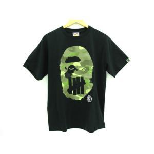 《メンズトップス》UNDEFEATED × A BATHING APE アンディフィーテッド×ア・ベイシングエイプ HEAD TEE 半袖Tシャツ 17SS SIZE:M|thrift-webshop