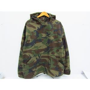 Stussy ステューシー Ripstop Pullover Jacket リップストップ パーカー フーディー カモフラ 迷彩 SIZE:L|thrift-webshop