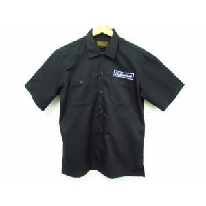 KUSTOMSTYLE カスタムスタイル ワークシャツ 半袖シャツ ワッペン SIZE:M|thrift-webshop