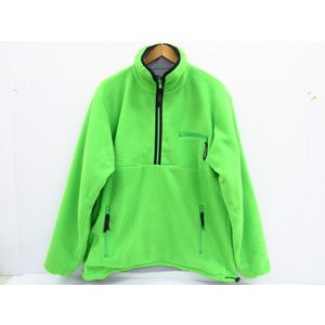 UNDEFEATED アンディフィーテッド REVERSIBLE PULLOVER JACKET リバーシブルフリースジャケット SIZE:LARGE|thrift-webshop