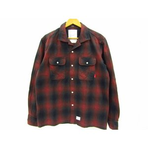WTAPS ダブルタップス ネルシャツ チェックシャツ 長袖 092GWDT-SHM01 SIZE:GRADE/LIMA thrift-webshop