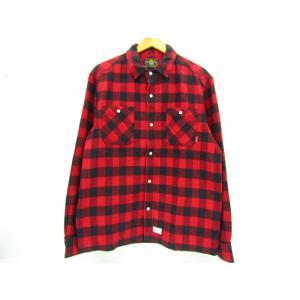 WTAPS ダブルタップス UNION L/S 長袖 チェックシャツ SIZE:L thrift-webshop