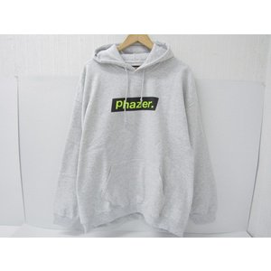 Phazer tokyo フェイザートーキョー ロゴ プルオーバーパーカー SIZE:XL thrift-webshop