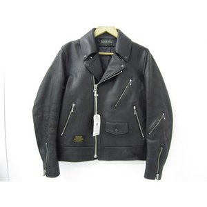 ROUGH AND RUGGED ラフアンドラゲッド DOUBLES ダブルライダースジャケット RR18-10-J01 SIZE:1 thrift-webshop