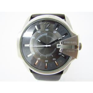 DIESEL ディーゼル DZ-1206 クォーツ腕時計 レザーベルト♪AC13388