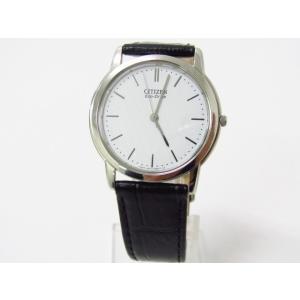 CITIZEN シチズン G431-T011683 Eco-Drive 腕時計 レザーベルト