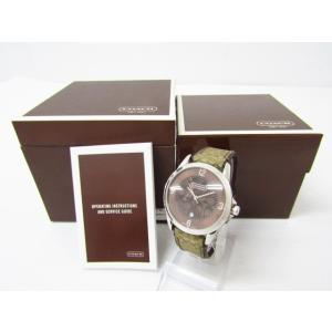 6b3242115f61 COACH コーチ クラシックシグネチャー 0291.1 クォーツ メンズ 腕時計