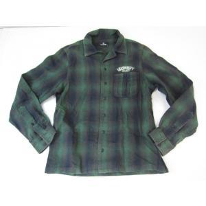 《メンズトップス》Subciety サブサエティー 刺繍入り ネルシャツ SIZE:S メンズ ストリート系 衣類 thrift-webshop
