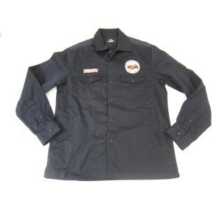 《メンズトップス》Subciety サブサエティー ARMY SHIRT STRAIGHT FOEWARD SIZE:L メンズ ストリート系 衣類 中古 thrift-webshop