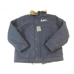 《メンズトップス》Subciety × HOUSTON ROCKETHEEAD N-1 16AW デッキジャケット SIZE:L メンズ ストリート系 衣類【中古】 thrift-webshop