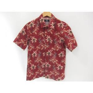 《メンズトップス》Subciety サブサエティ 半袖 アロハ シャツ メンズ サイズS【中古】 thrift-webshop