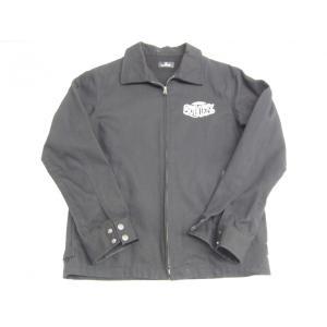 Subciety サブサエティ チェーン刺繍 ワークジャケット SIZE:M thrift-webshop