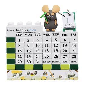 レオ・レオニ&フレンズ ブロックカレンダー クローバーフレデリック 701654 LL-022|thrive