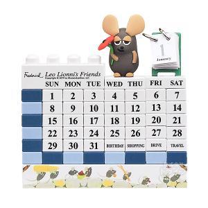 レオレオニ フレデリック ブロックカレンダー ブルー 439045 LL-010|thrive
