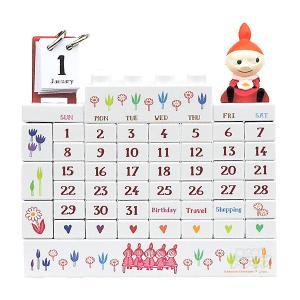 ムーミン谷の仲間たち リトルミイ Little My ブロックカレンダー 700916 AMM-010|thrive