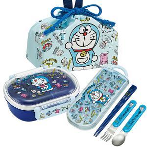 ドラえもん I'm Doraemon 抗菌 お弁当箱 中子付 360ml トリオ 巾着セット|thrive