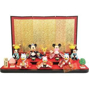 送料無料 ディズニー七人飾り雛人形 183018(雛人形・ひな人形)|thrive