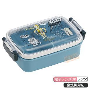 期間限定クーポンあり スター・ウォーズ 食洗機対応 角型お弁当箱 仕切付 481529
