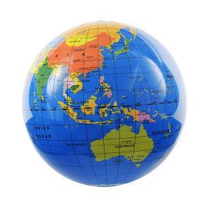 タイガートライブ ビーチボール地球儀 30cm