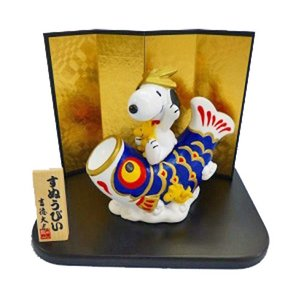 スヌーピー&ウッドストック 鯉のぼり 子どもの日 五月人形 吉徳 183038|thrive