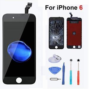 For iPhone6 液晶LCD交換 フロントパネル(タッチパネル)高品質【 iPhone修理/フロントパネル/修理キット】修理工具付き