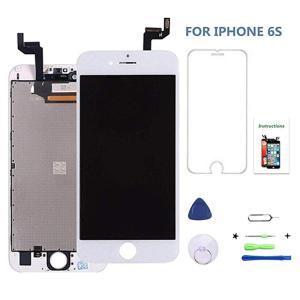 iPhone 6s 4.7インチ交換修理用フロントパネル(フロントガラスデジタイザ)【強化ガラスフィルム・修理工具付き・iPhone修理】