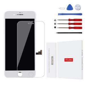 YPLANG For iPhone8 修理用交換用LCD 画面交換修理 交換用LCD フロントパネル タッチパネル 液晶パネル  修理工具付き