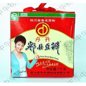 丹丹ピーシェン 豆板醤 四川風唐辛子みそ トーバンジャン 中華食材 四川料理用 業務用 1kg