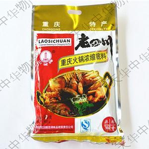 老四川 火鍋の素 激辛 火鍋 しゃぶしゃぶ  炒め物の調味料  本格的な味 400g