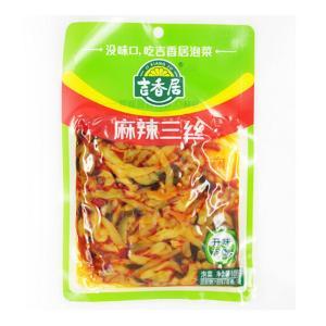 中華物産食品 漬物吉香居 麻辣三絲 味付けザーサイスライス スパイシザーサイミックス  おつまみ 180g