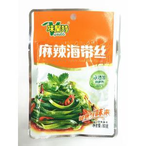 中華物産食品 味聚特 漬物麻辣海帯絲 辛口昆布(細きり)惣菜 中華ザーサイ 80g