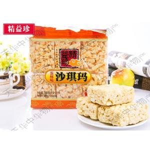 精益珍蛋酥味沙其瑪 サチマ 368g 卵味 揚げお菓子中華食材 中華物産 お土産小分け12個入