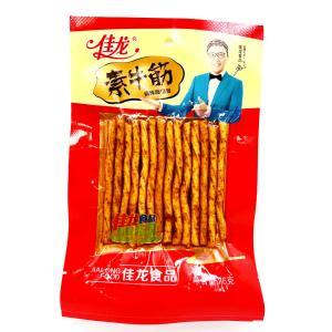 東望食品面筋素牛筋  真牛 面製品辣条 中華物産 零食豆腐加工品、 麻辣味 おつまみ 中国おやつ 間食120g