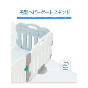 商品構成:  円形スタンド2個 すべり止め 8個 パネル 無  マット 無  子供に安心、安全な遊び...
