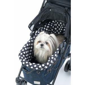 マザーカート Mother Cart Lapule Lサイズ専用 ドットインナー ゴムタイプ 犬用 ...