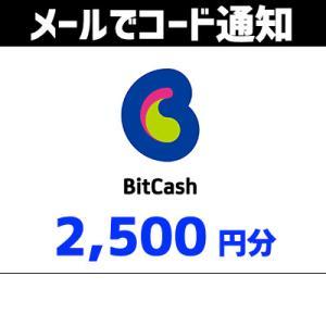 土日祝でも当日コード通知・BitCash ビットキャッシュ 2,500クレジット(2,500円分) Tポイント利用OK ポイント消化|ticketmonster