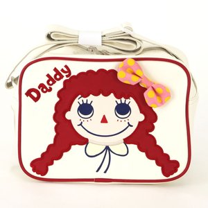 Daddy Oh Daddy 通園バッグ ショルダーバッグ リボンのダディコ ホワイト