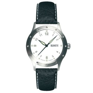 SCHAUER シャウアー【DAY-DATE 2836】デイデイト2836 腕時計 JS-AUT-DD-WHTLEAT|tictac