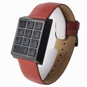 SAFETY BOX WATCH セーフティーボックス 腕時計 HAU-SB-BK/RE 【送料無料】【代引き手数料無料】|tictac