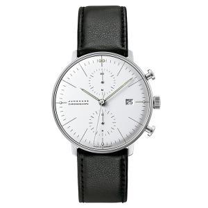 JUNGHANS MAXBILL ユンハンス マックスビル クロノグラフ (クロノスコープ) 腕時計 JH-027.4600.00|tictac