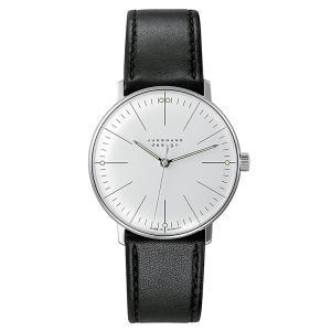 JUNGHANS MAXBILL ユンハンス マックスビル HANDAUFZUG 腕時計 JH-027.3700.00|tictac