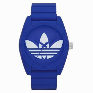 【SALE!!】adidas アディダス SANTIAGO サンティアゴ 【国内正規品】 ブルー ADH6169 【送料無料】【代引き手数料無料】|tictac