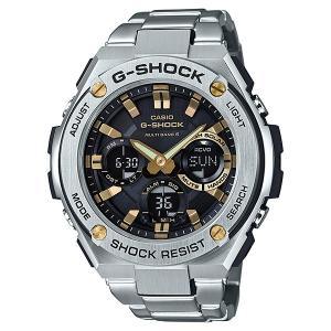 82d4ab6eb2 G-SHOCK ジーショック G-STEEL ジースチール 電波ソーラー 腕時計 メンズ GST-W110D-1A9JF