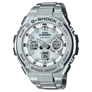 12cf4484d9 G-SHOCK ジーショック G-STEEL ジースチール 電波ソーラー 腕時計 メンズ GST-W110D-7AJF